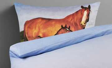 LAVIDA Renforcé Bettwäsche  Pferde