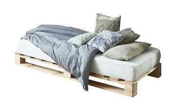 Palettenbettgestell ohne Matratze