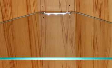 Woodford LED-Glaskantenbeleuchtung   Dio