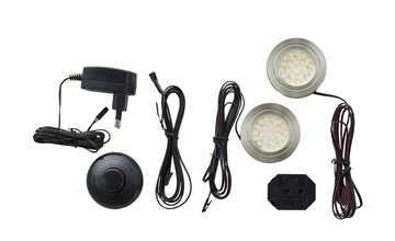2er-Set LED-Unterbauspot