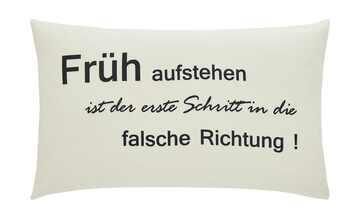 """for friends Kissen  """"Früh aufstehen..."""""""