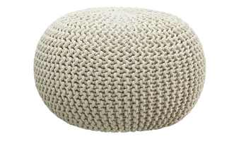 HOME STORY Pouf  Strick