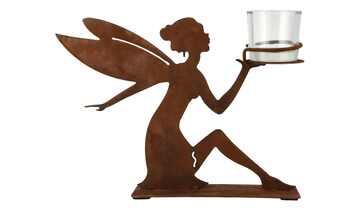 Teelichthalter Elfe