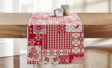 Tischläufer  Weihnachtspatch