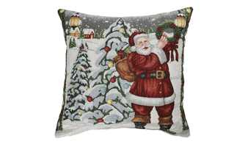 LAVIDA Kissen  Weihnachtsmann