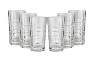 Longdrinkglas, 6-teiliges Set