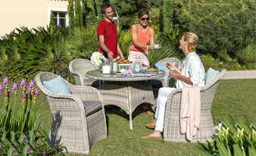 Garten-Sitzgruppe, 5-teilig