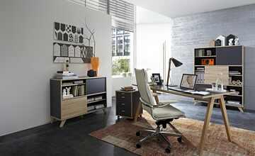 Büro 4-teilig