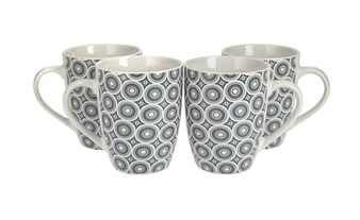 Kaffeebecher Ornamente, 4er-Set