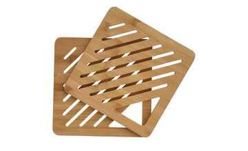 Bambus-Untersetzer, 2er-Set
