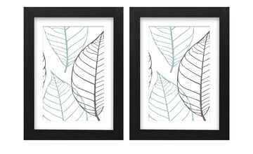 Holzbilderrahmen 13x18 cm, 2er-Set    Iceland