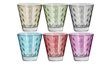 LEONARDO Gläser klein, 6er-Set  Optic