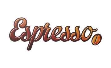 """Cut-Out """"Espresso Impregnable"""""""