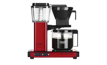 Moccamaster Kaffeeautomat  KBG 741 AO Red Metallic