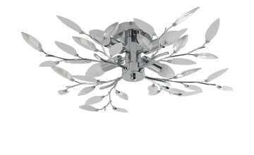 Deckenlampe Blatt-Elemente Dekorglas