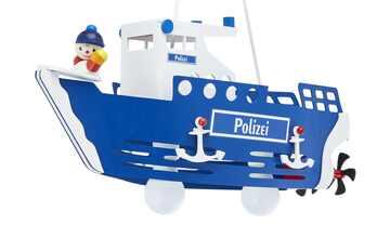 Pendelleuchte, 2-flammig, `Polizeischiff`