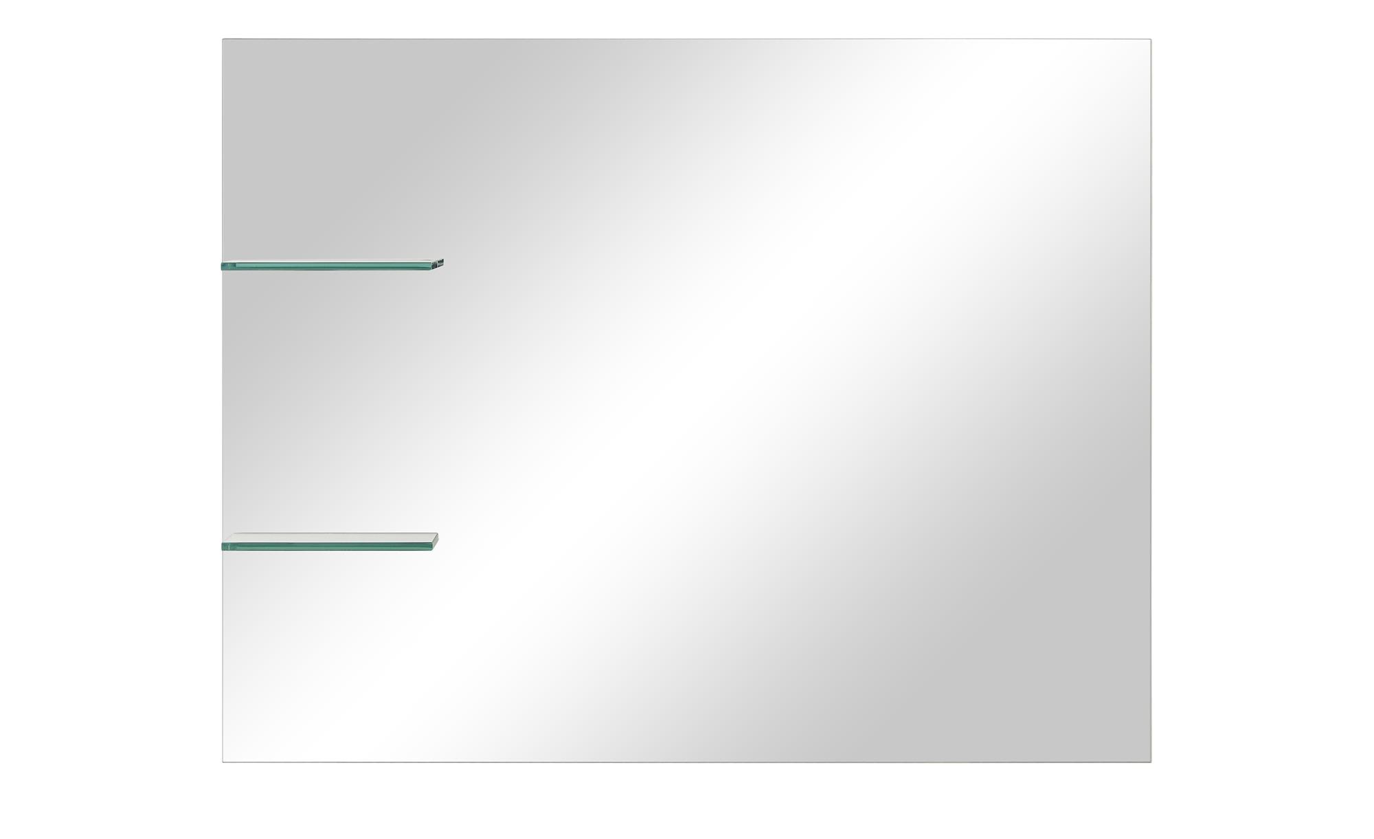 smart spiegel mit 2 ablagen bei m bel kraft online kaufen On smart breite mit spiegel