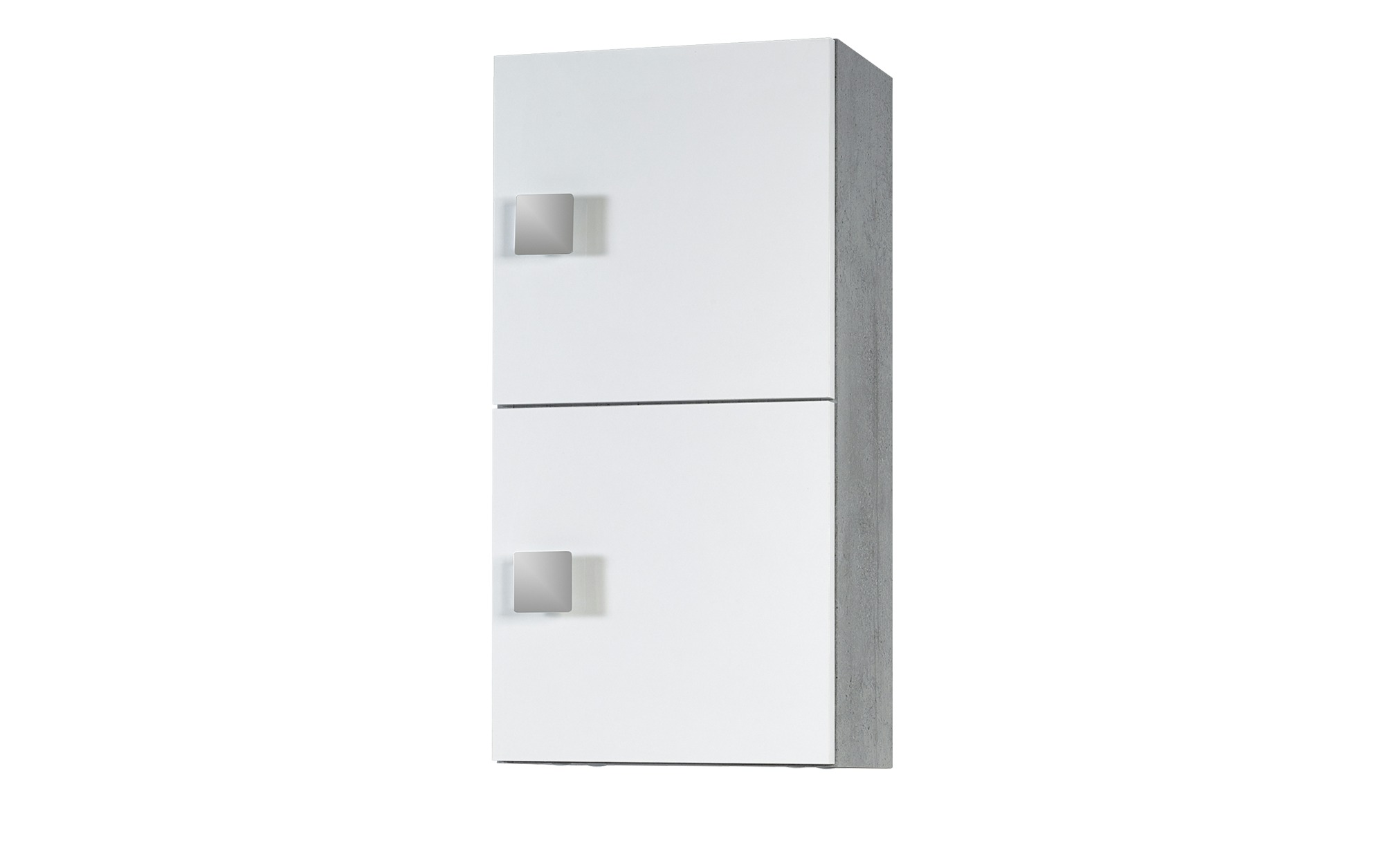 Bad-Hängeschrank - weiß - 33 cm - 65 cm - 20 cm - Schränke > Badschränke > Bad-Wandschränke - Möbel Kraft | Bad > Badmöbel > Hängeschränke fürs Bad | Sconto