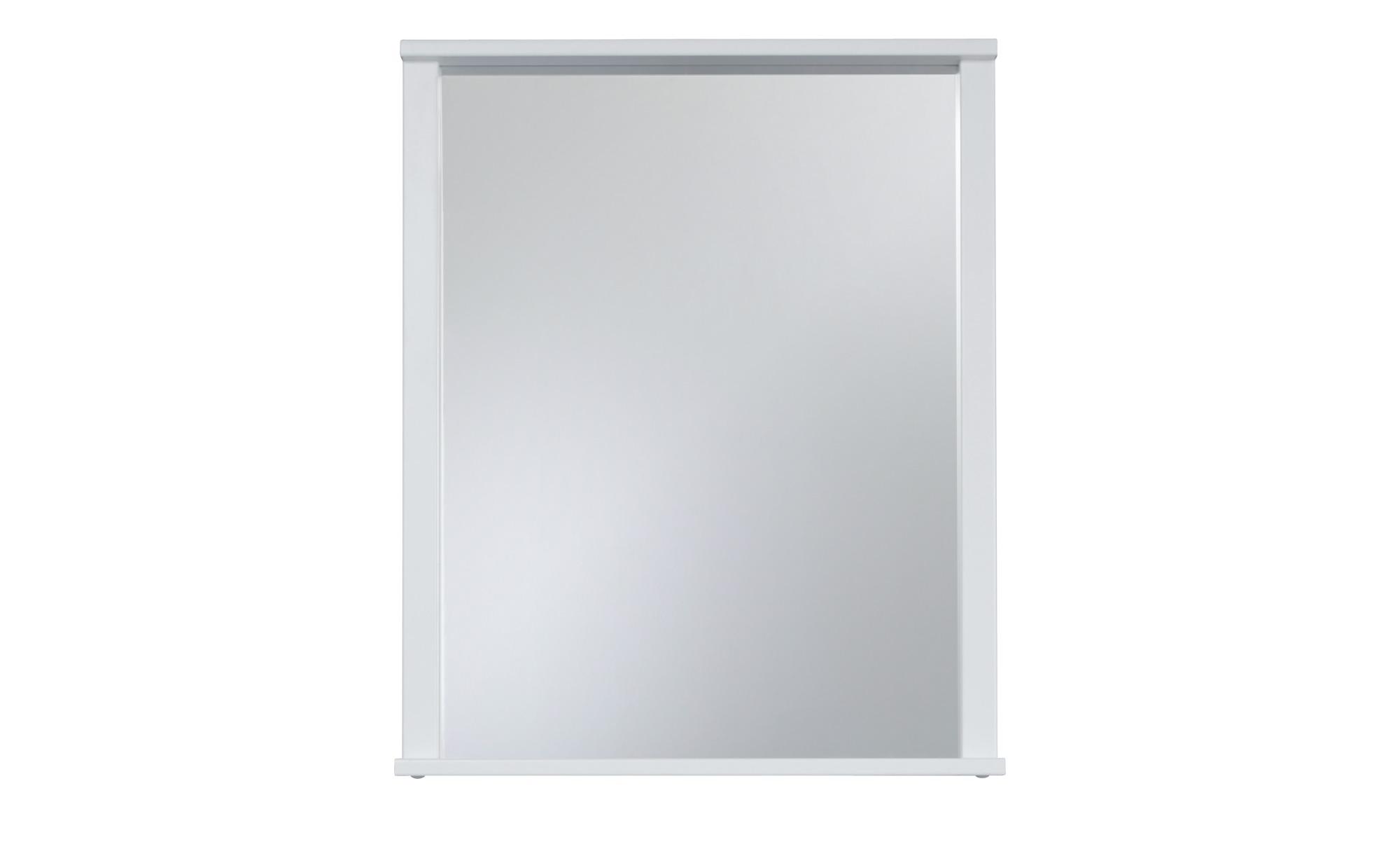 Bad-Spiegel - weiß - 63 cm - 78 cm - 12 cm - Badtextilien und Zubehör > Badaccessoires - Möbel Kraft | Bad > Spiegel fürs Bad > Badspiegel | Sconto