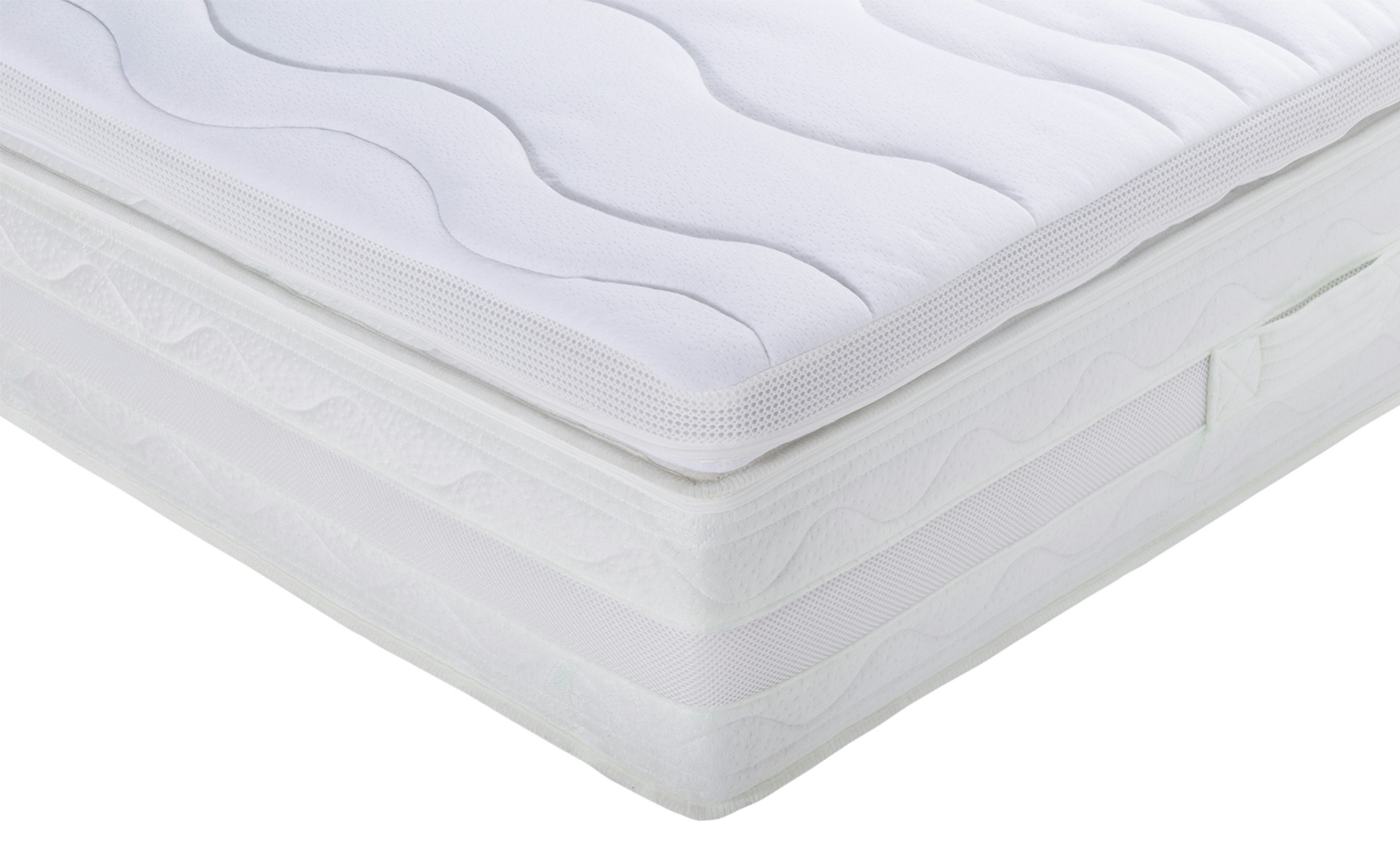 Kaltschaumtopper - weiß - 140 cm - 5 cm - 200 cm - Matratzen & Zubehör > Matratzen-Topper - Möbel Kraft | Schlafzimmer > Matratzen > Unterbetten | Sconto