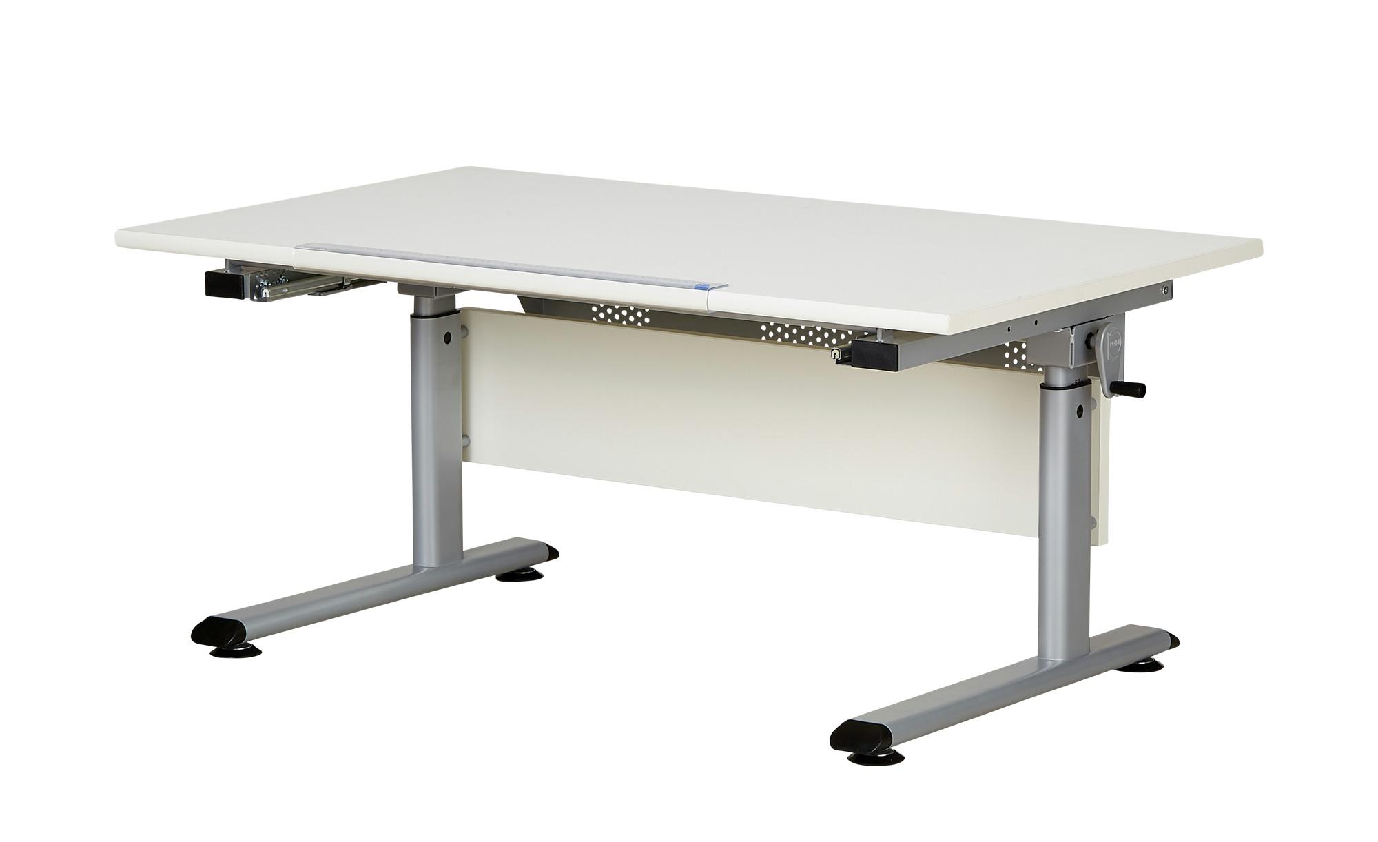 PAIDI Schülerschreibtisch Marco 2 | weiß - Möbel Kraft