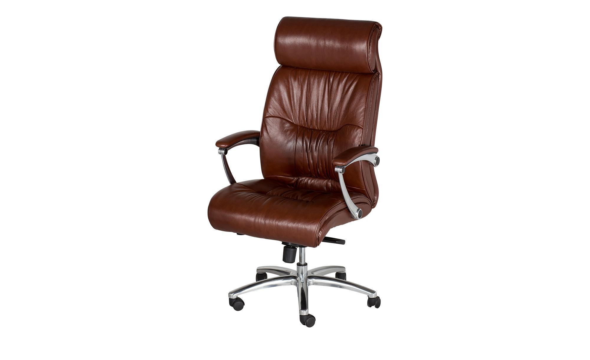 leder chefsessel braun bei m bel kraft online kaufen. Black Bedroom Furniture Sets. Home Design Ideas