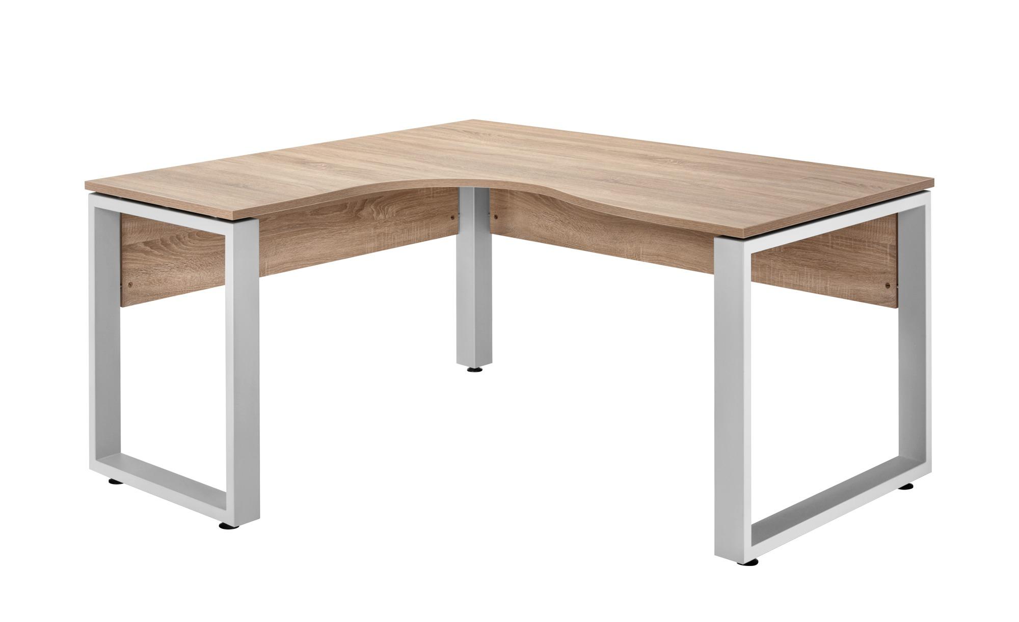Schreibtisch 140x160 cm - holzfarben - 160 cm - 75 cm - 140 cm - Tische > Bürotische - Möbel Kraft | Büro > Bürotische > Schreibtische | Holzfarben | Sconto