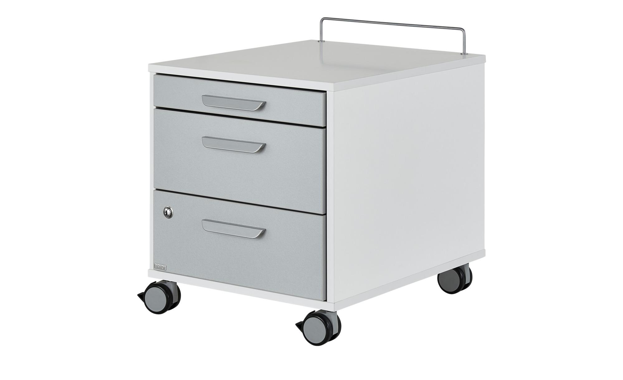 PAIDI Rollcontainer - weiß - 44,4 cm - 51,2 cm - 54,7 cm - Schränke > Rollcontainer - Möbel Kraft | Büro > Büroschränke > Rollcontainer | PAIDI