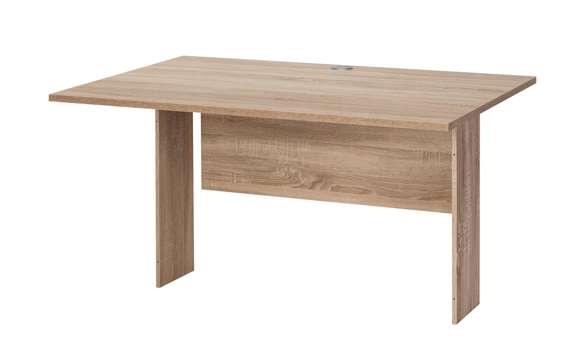 Schreibtischplatte - holzfarben - 120 cm - 80 cm - Tische > Tischplatten - Möbel Kraft | Büro > Bürotische > Bürotische-Zubehör | Sconto
