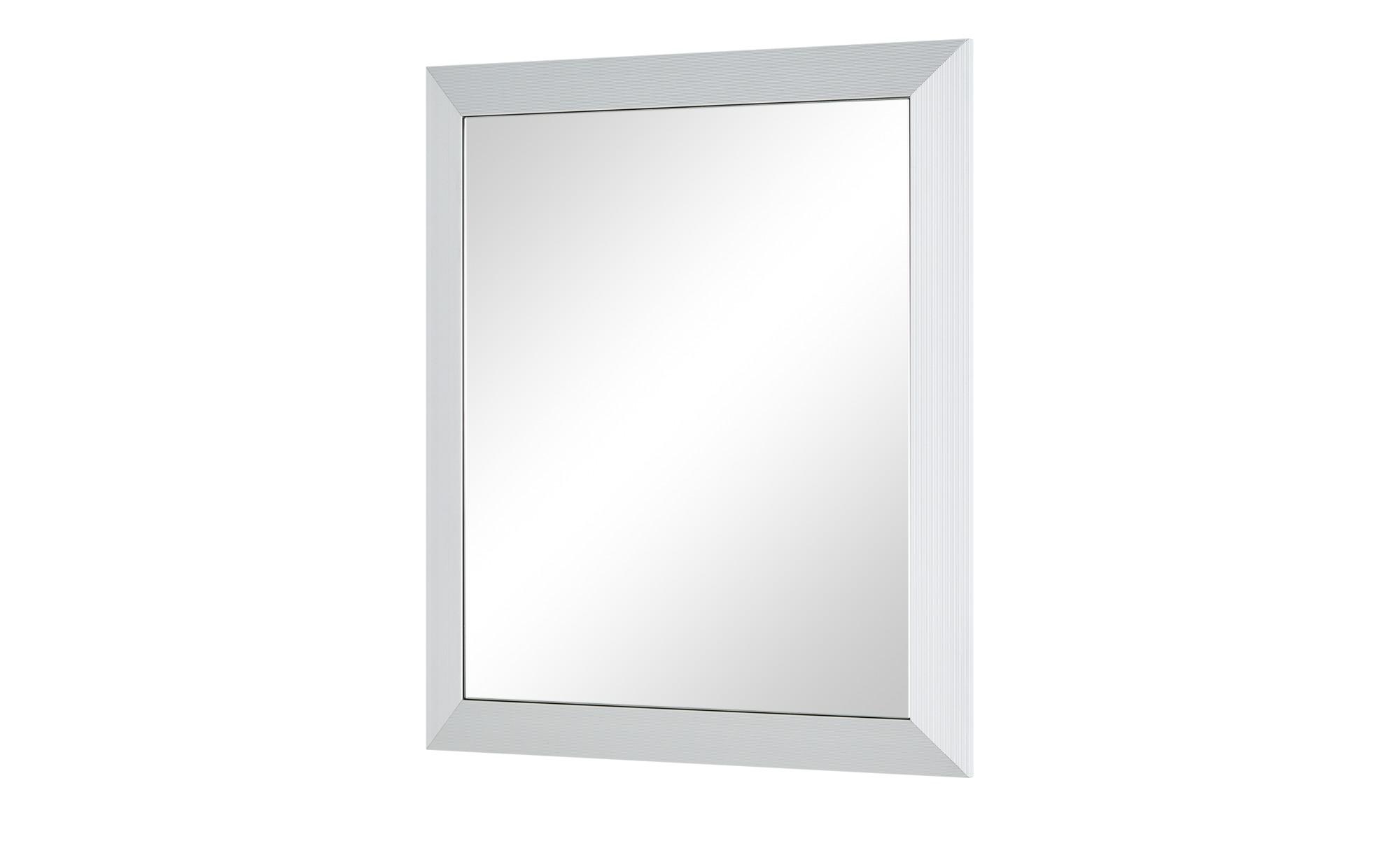 Wohnwert Spiegel  Intro - silber - 58 cm - 67 cm - 5 cm - Garderoben & Kleiderstangen > Spiegel - Möbel Kraft | Flur & Diele > Spiegel | Wohnwert