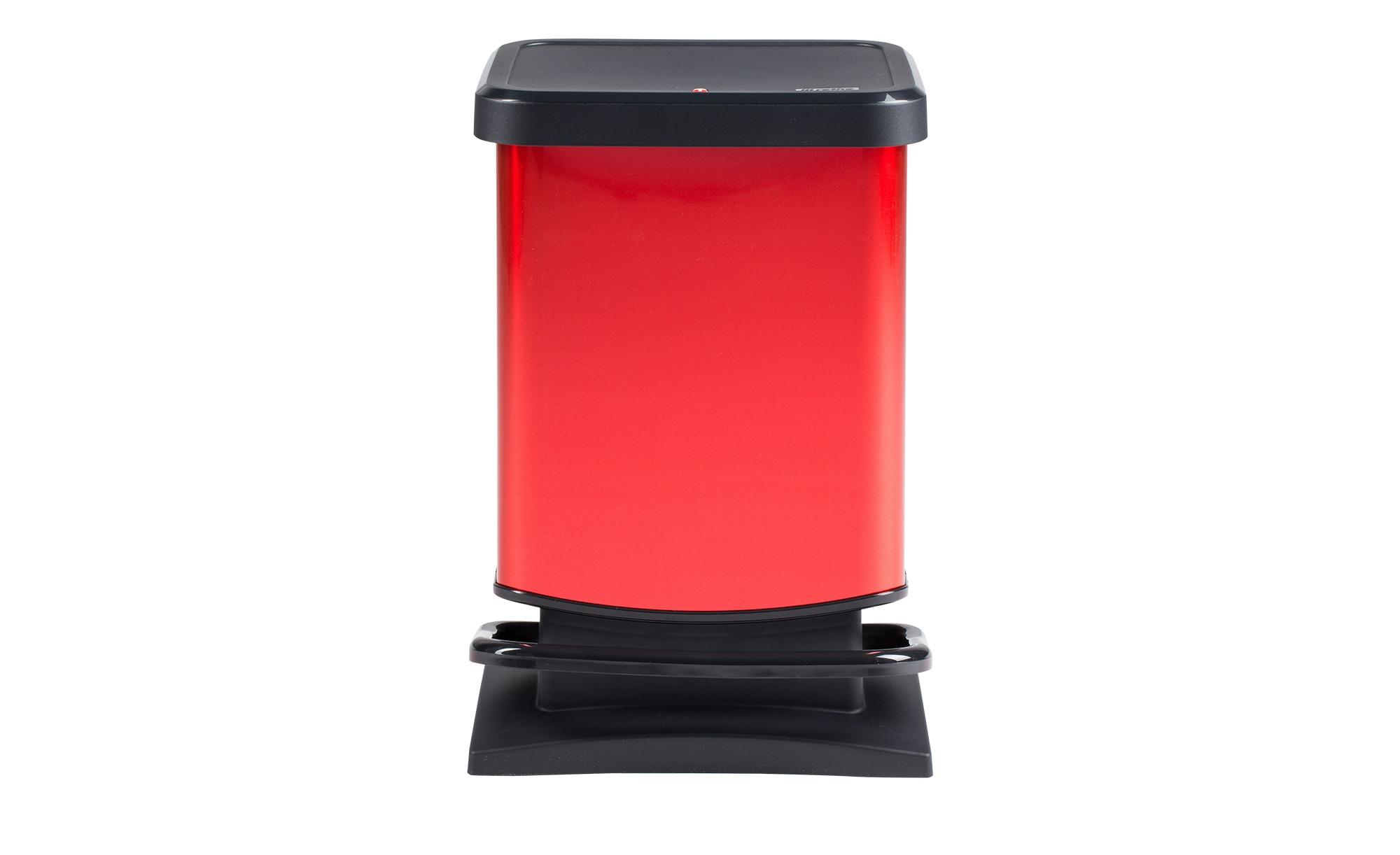 Rotho Treteimer 20 l Rot  Paso - rot - Kunststoff - Küchenzubehör & Helfer günstig online kaufen
