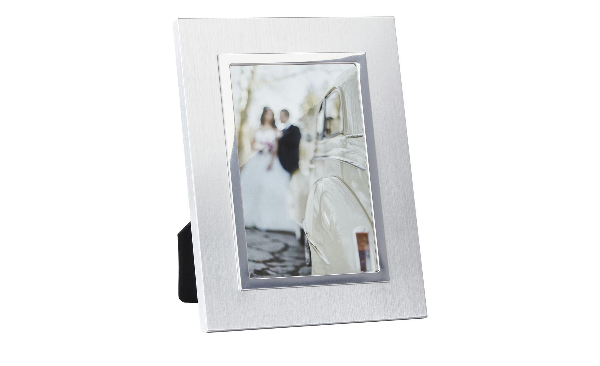 Tischrahmen - silber - Metall - 10 cm - 15 cm - Dekoration > Bilderrahmen - Möbel Kraft | Dekoration > Bilder und Rahmen > Rahmen | Sconto