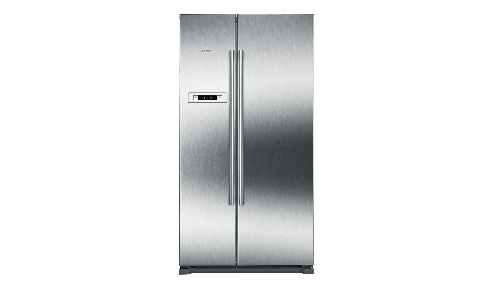 Siemens Kühlschrank Edelstahl : Siemens side by side ka 90 nvi 30 bei möbel kraft online kaufen