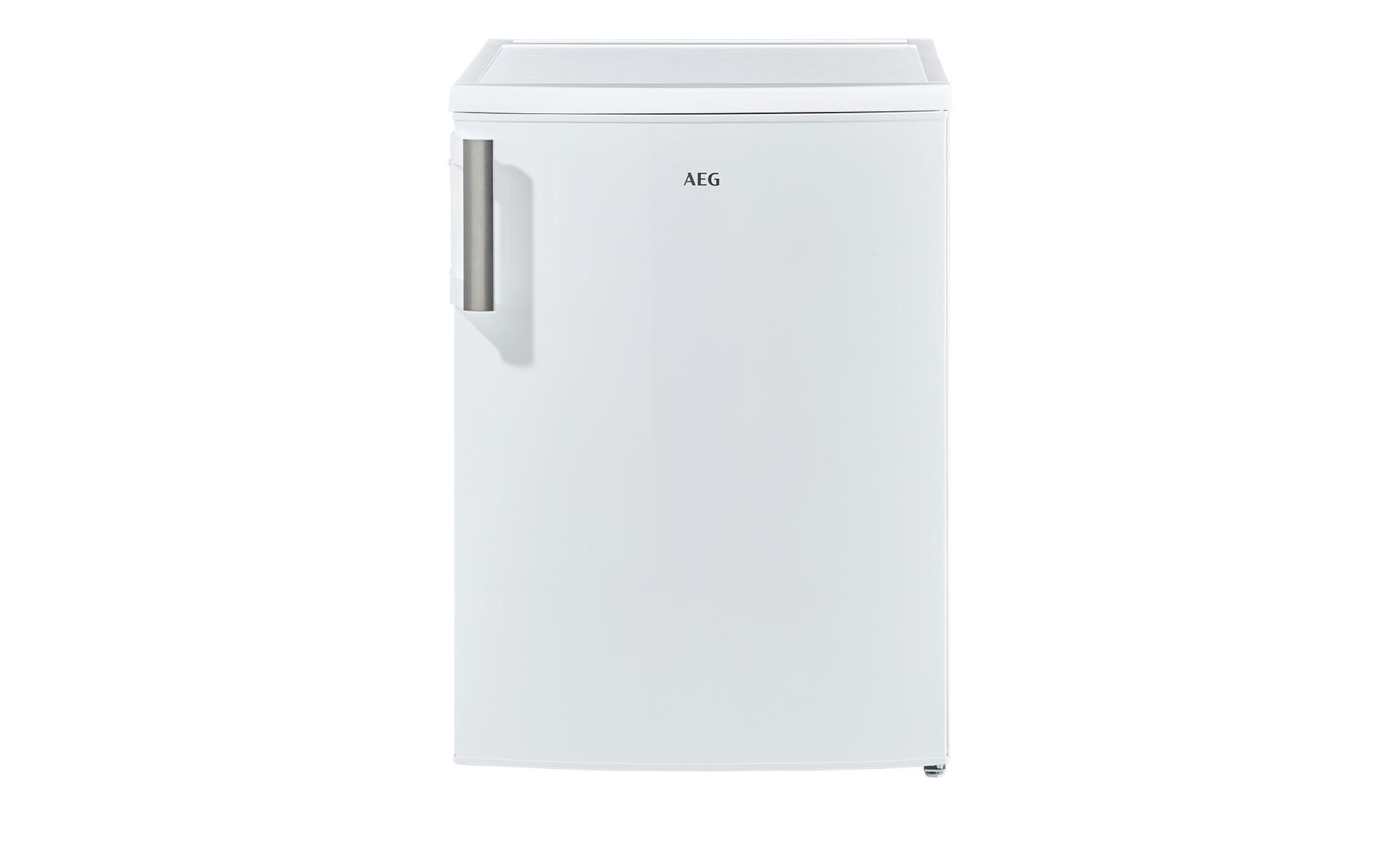 AEG Kühlschrank  RTB81421AW - weiß - Kunststoff, Glas , Metall-lackiert - 59,5 cm - 85 cm - 63,5 cm - Elektrogeräte > Kühlschränke - Möbel Kraft | Küche und Esszimmer > Küchenelektrogeräte > Kühlschränke | Glas - Metall | AEG