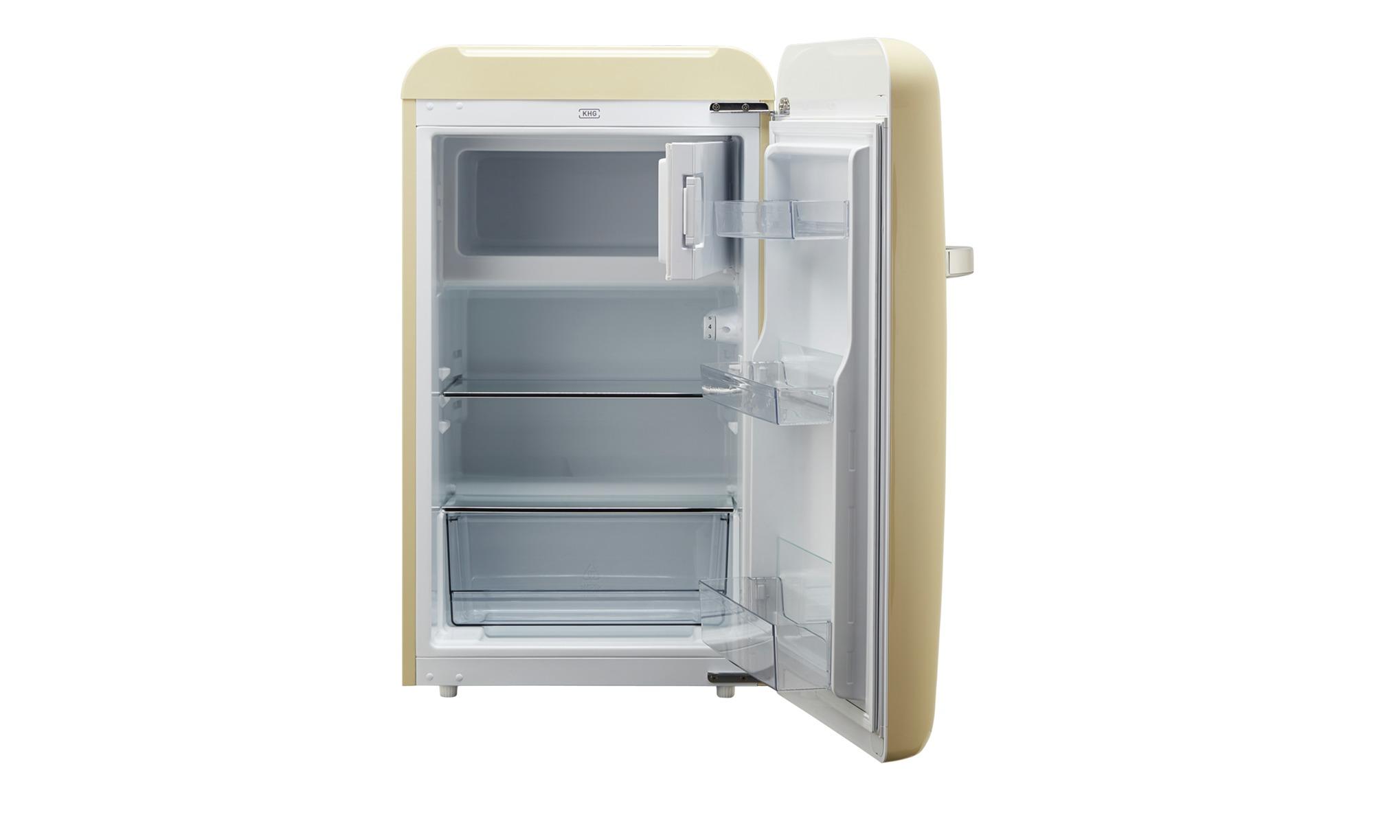 Bomann Kühlschrank Creme : Khg kühlschrank ksr mg c creme bei möbel kraft online kaufen
