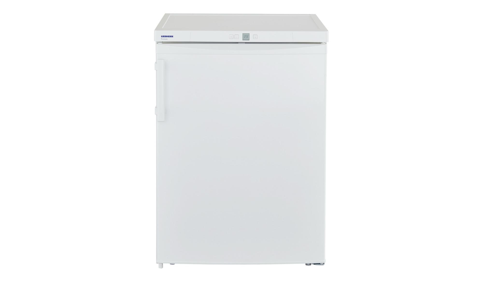 LIEBHERR Kühlschrank  TP1760-22 - weiß - Metall-lackiert, Kunststoff, Glas - 60,1 cm - 85 cm - 62,8 cm - Elektrogeräte > Kühlschränke - Möbel Kraft | Küche und Esszimmer > Küchenelektrogeräte > Kühlschränke | LIEBHERR