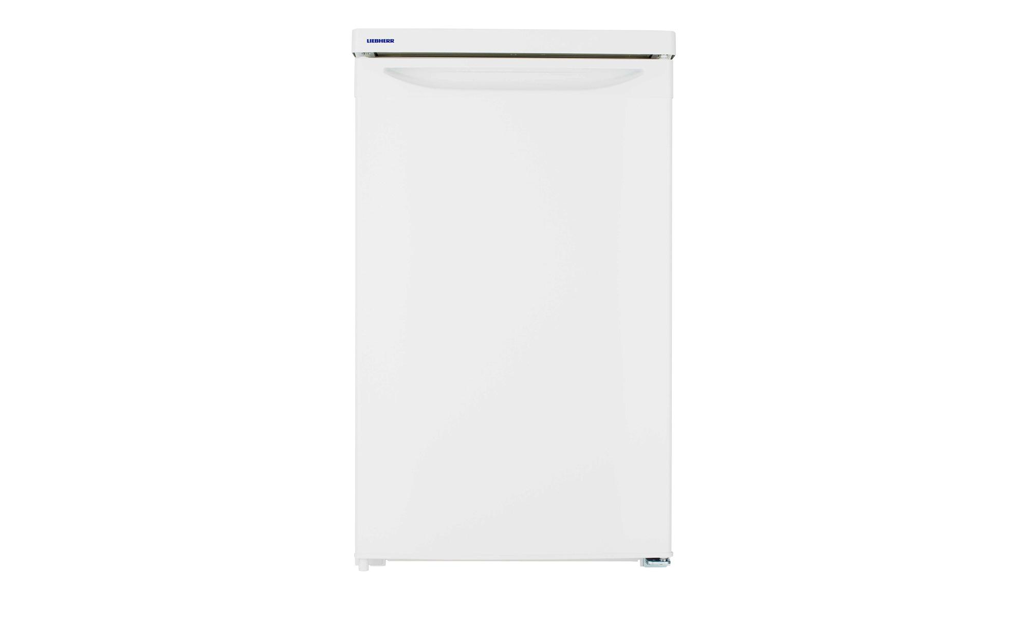 LIEBHERR Kühlschrank  T1404-20 - weiß - Metall-lackiert, Kunststoff, Glas - 50,1 cm - 85 cm - 62 cm - Elektrogeräte > Kühlschränke - Möbel Kraft | Küche und Esszimmer > Küchenelektrogeräte > Kühlschränke | Glas | LIEBHERR