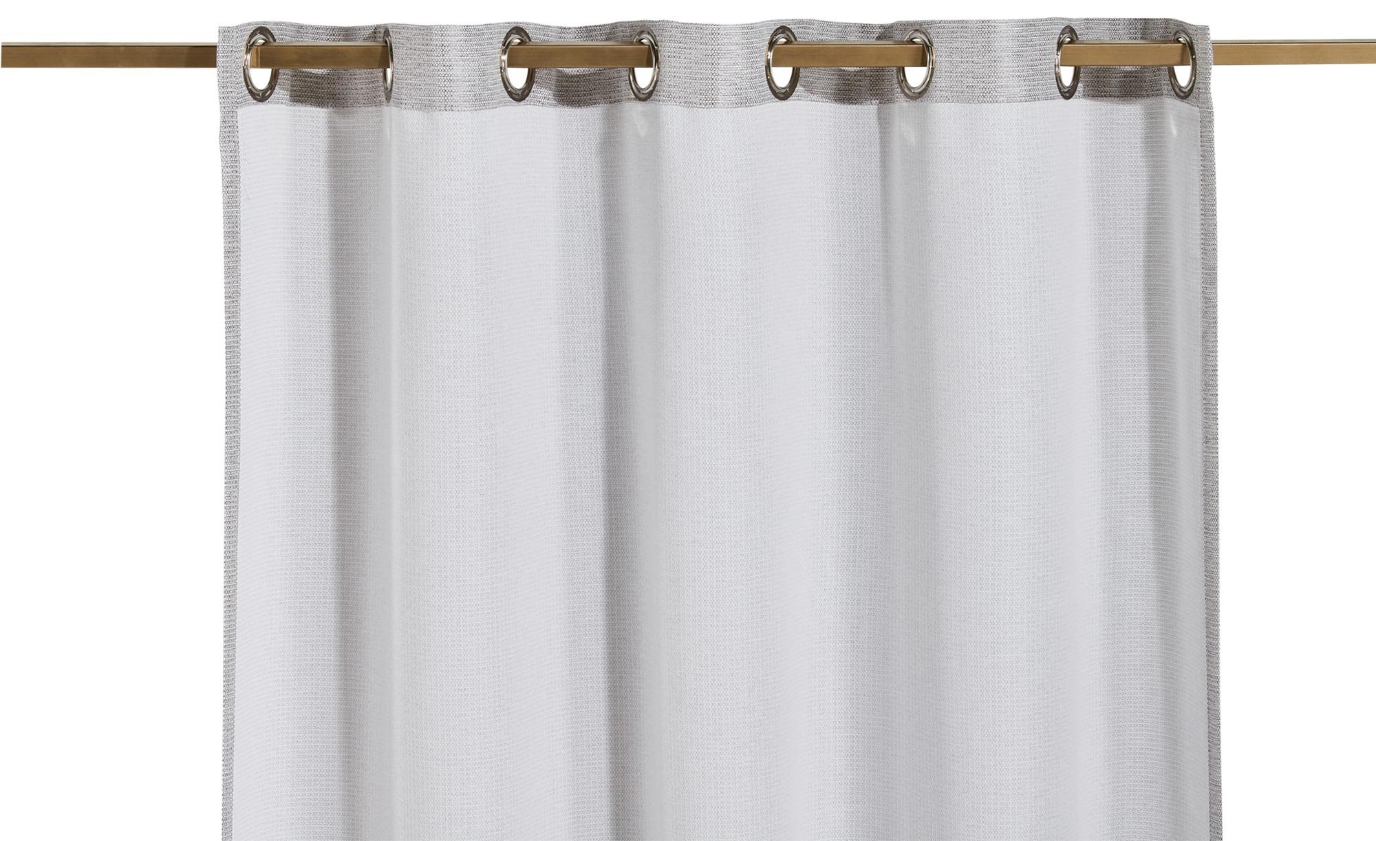 como Ösenschal  Mara - beige - 100% Polyester - 140 cm - 245 cm - Gardinen & Vorhänge > Gardinen > Ösenschals - Möbel Kraft | Heimtextilien > Gardinen und Vorhänge > Vorhänge | como