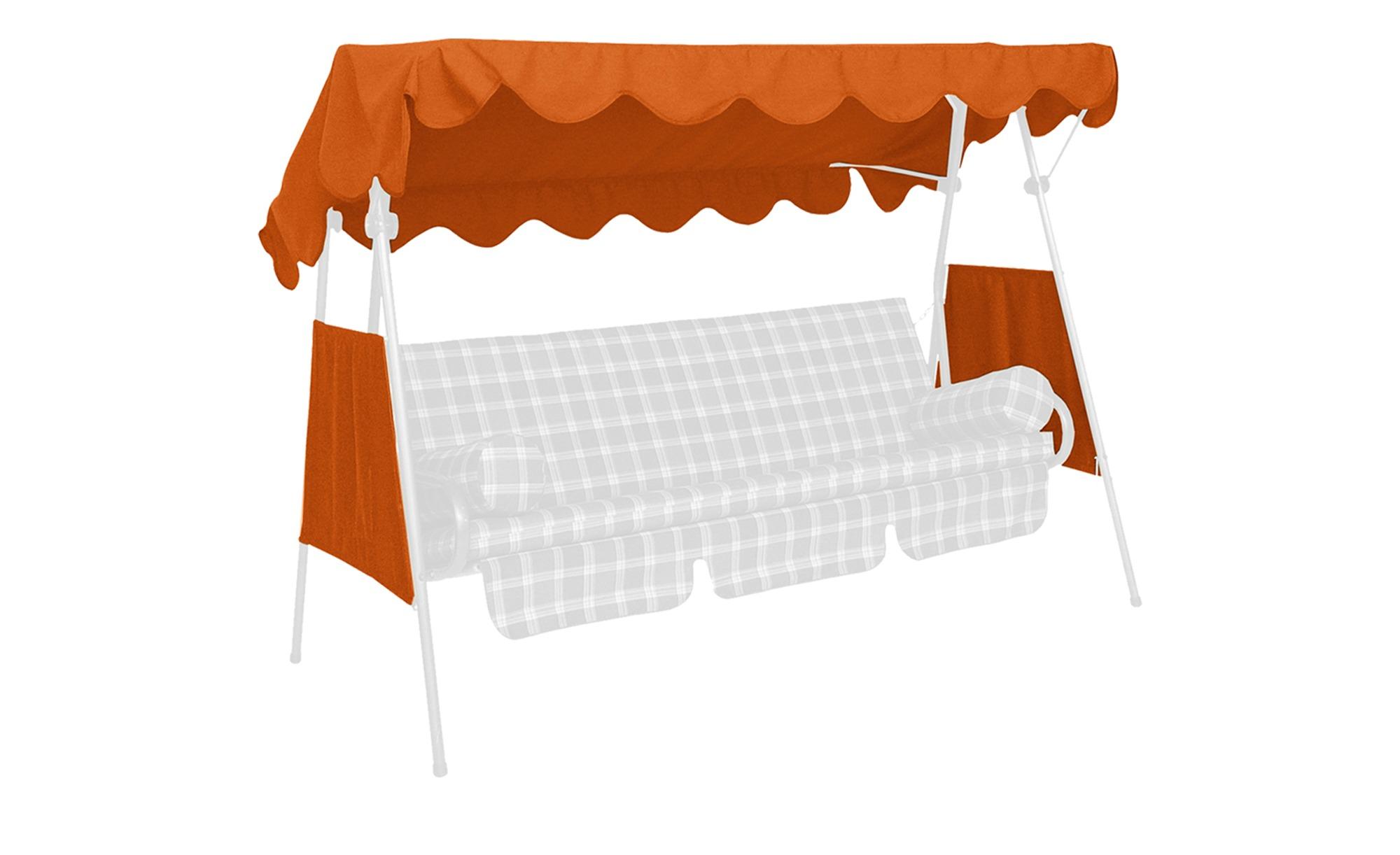 Angerer Dach & Seiten für Hollywoodschaukel - orange - Garten > Garten-Zube günstig online kaufen