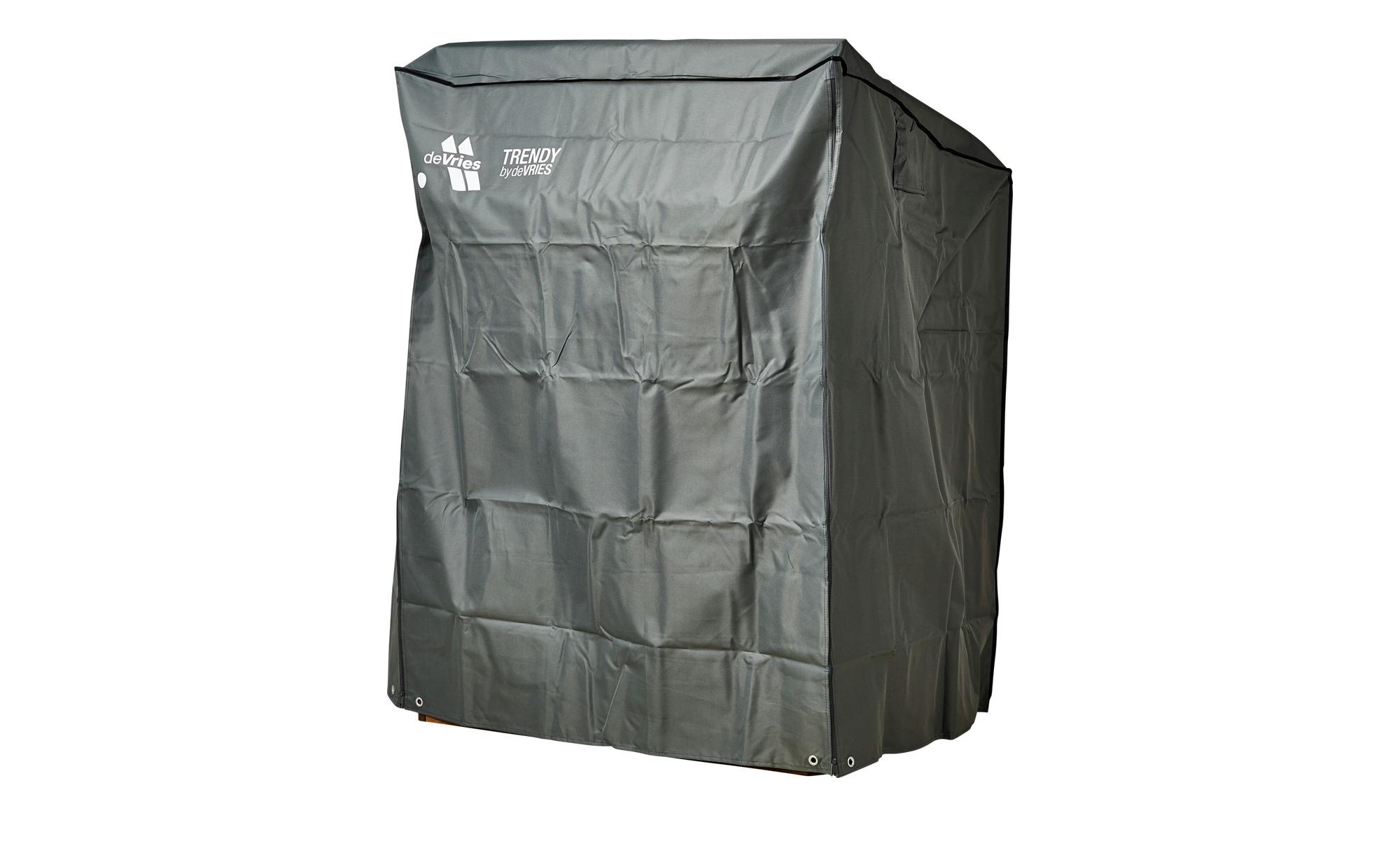 Schutzhaube für Strandkorb - grau - 152 cm - 165 cm - 95 cm - Garten > Gart günstig online kaufen