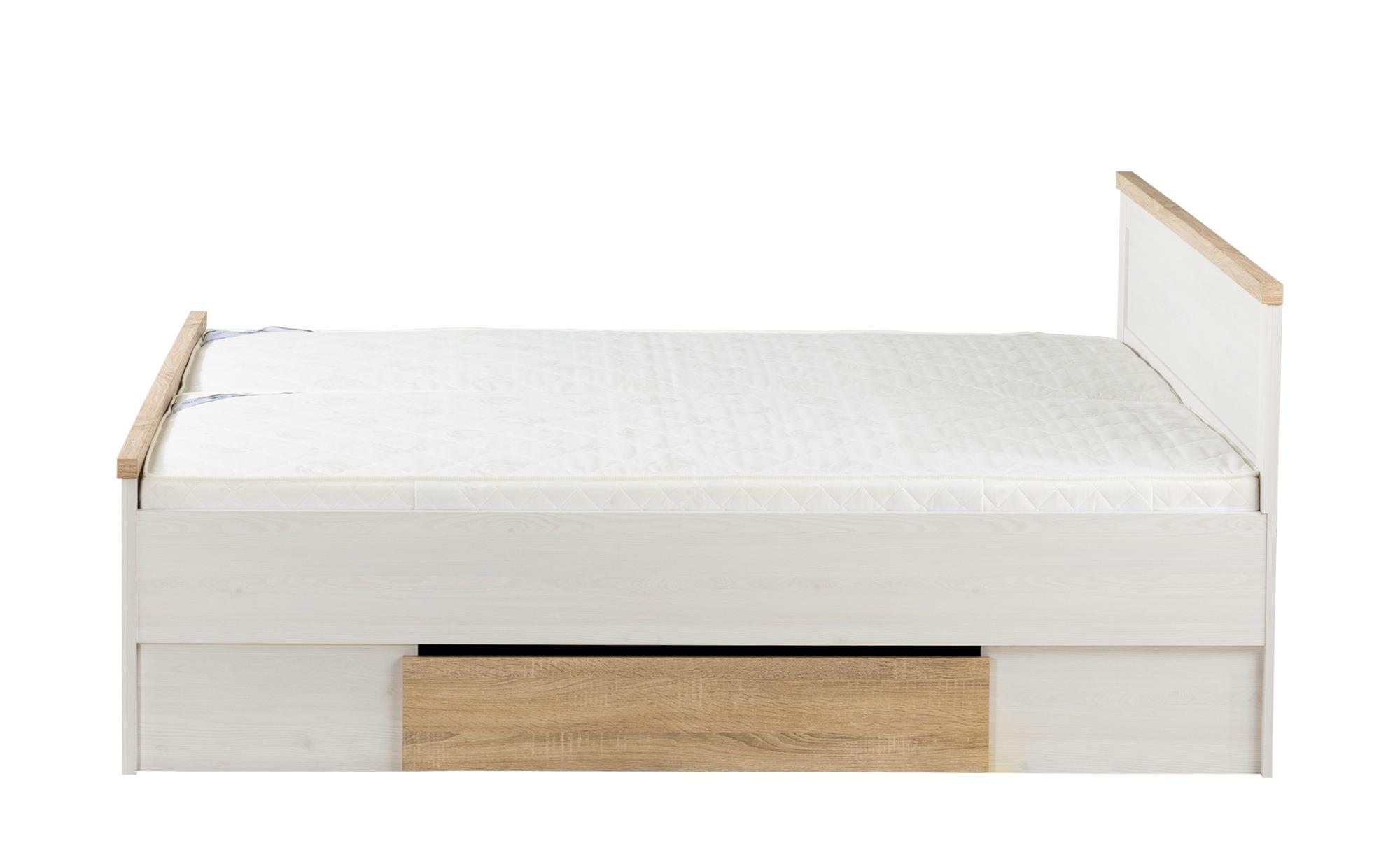 Bett mit 2 Nachtkommoden - Bei Möbel Kraft online kaufen