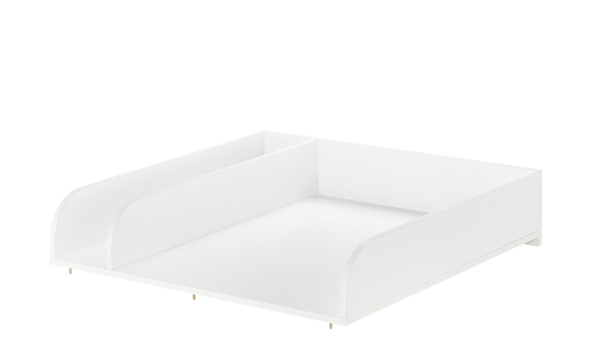 Wickelplatte mit Ablagefach - weiß - 80 cm - 18 cm - 78 cm - Baby > Babymöbel > Wickelkommoden - Möbel Kraft | Kinderzimmer > Babymöbel > Wickelkommoden | Möbel Kraft