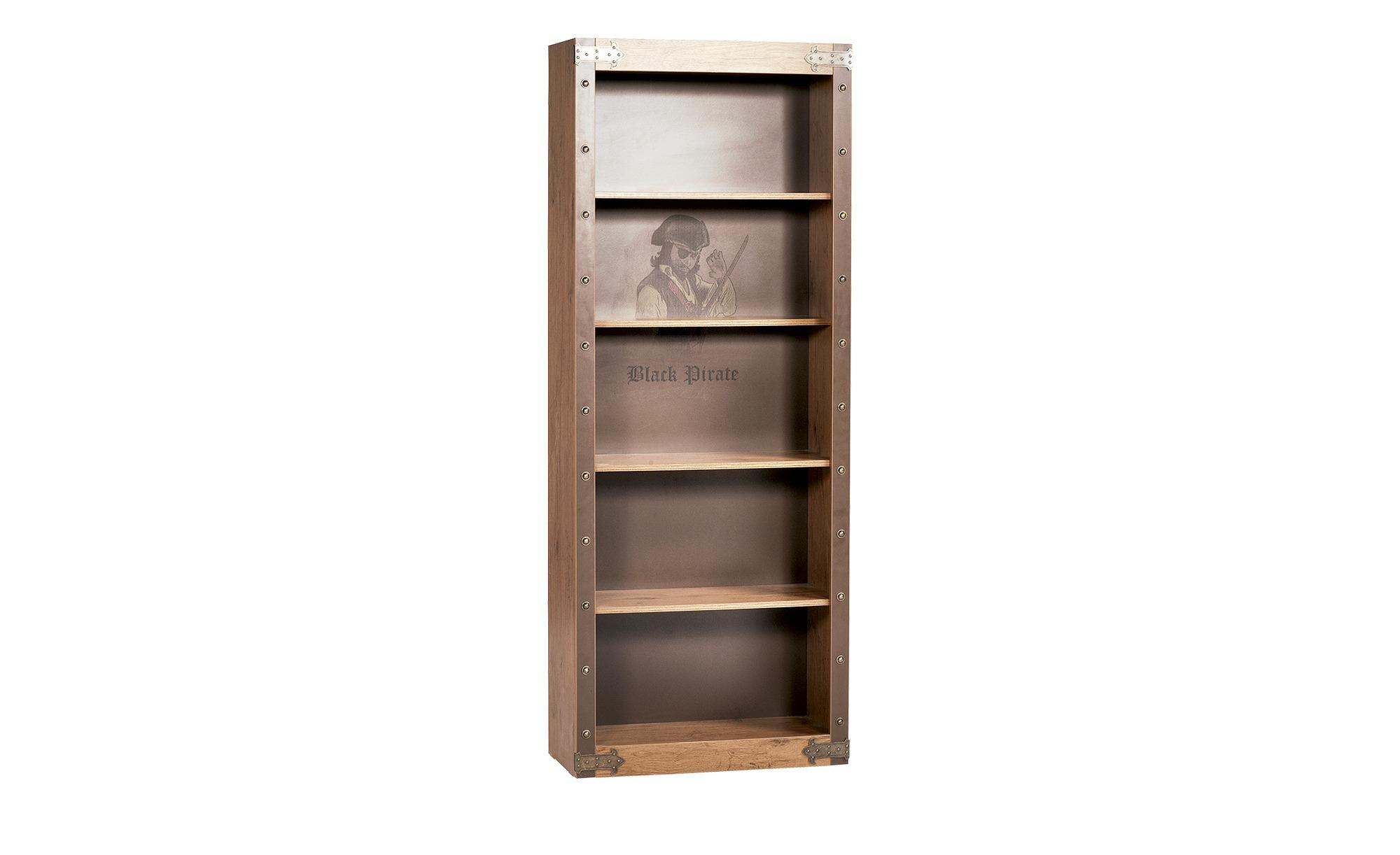 Standregal - holzfarben - 70,7 cm - 182,6 cm - 33,3 cm - Regale > Bücherregale - Möbel Kraft | Wohnzimmer > Regale > Einzelregale | Möbel Kraft