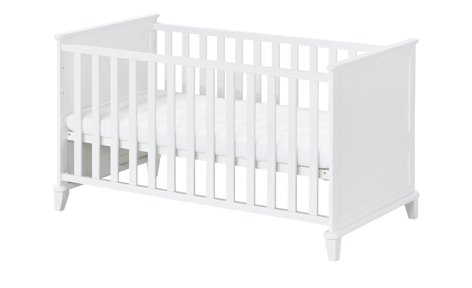 PAIDI Kinderbett Sophia - weiß - 80,7 cm - 83,3 cm - Baby > Babymöbel >  Babybetten - Möbel Kraft