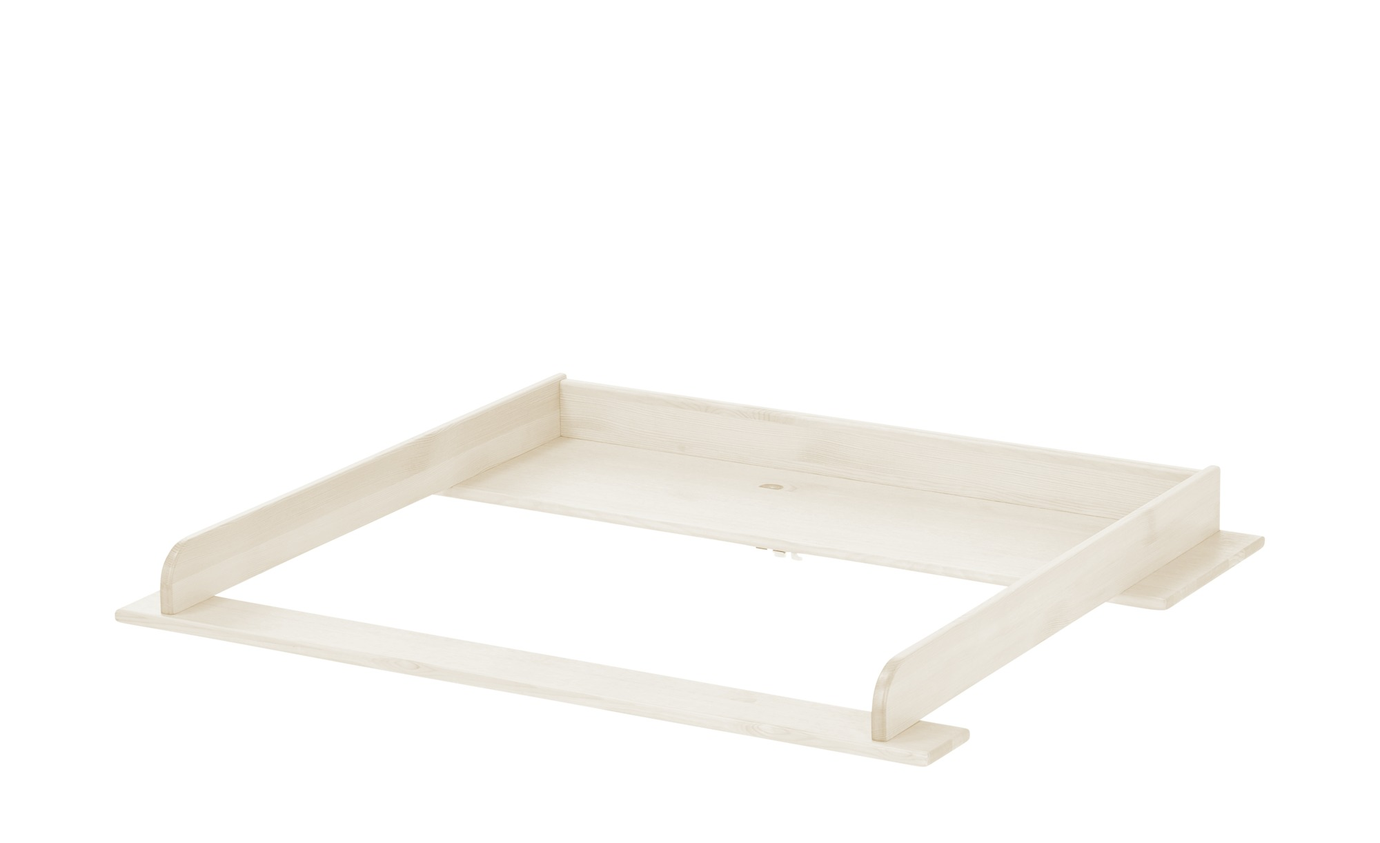 Wickelaufsatz - weiß - 107 cm - 10 cm - 90 cm - Sonstiges Zubehör - Möbel Kraft | Kinderzimmer > Babymöbel > Wickelkommoden | Möbel Kraft