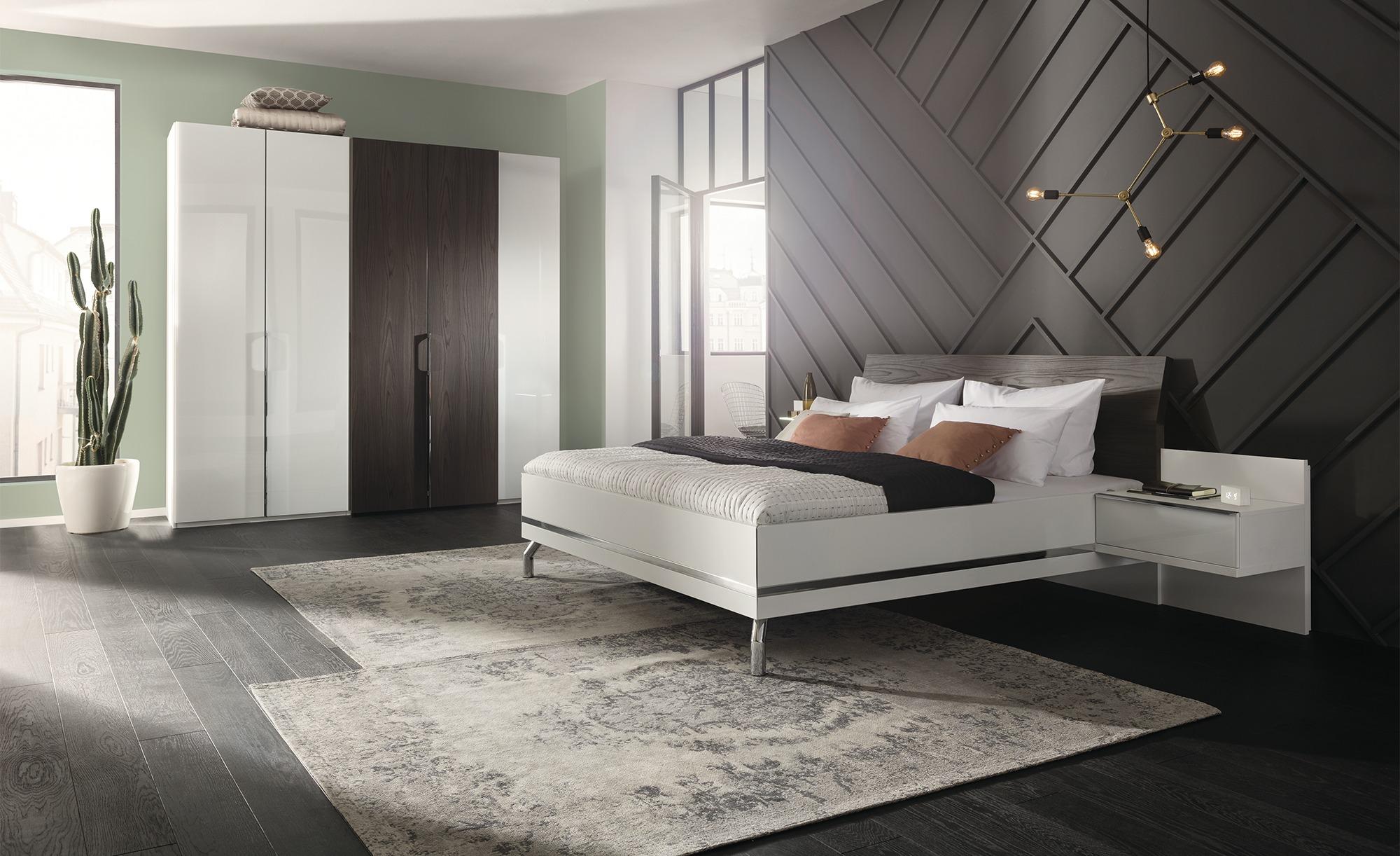 Komplett-Schlafzimmer, 4-teilig - weiß - Komplett-Schlafzimmer - Möbel Kraft | Schlafzimmer > Komplett-Schlafzimmer | Sconto