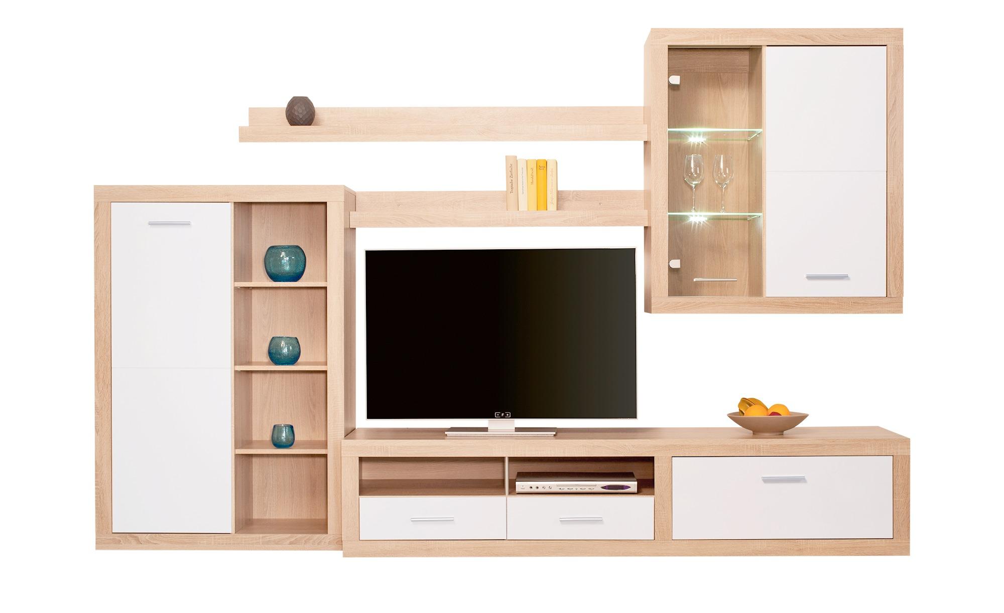 Moderne Wohnwand - Bei Möbel Kraft online kaufen