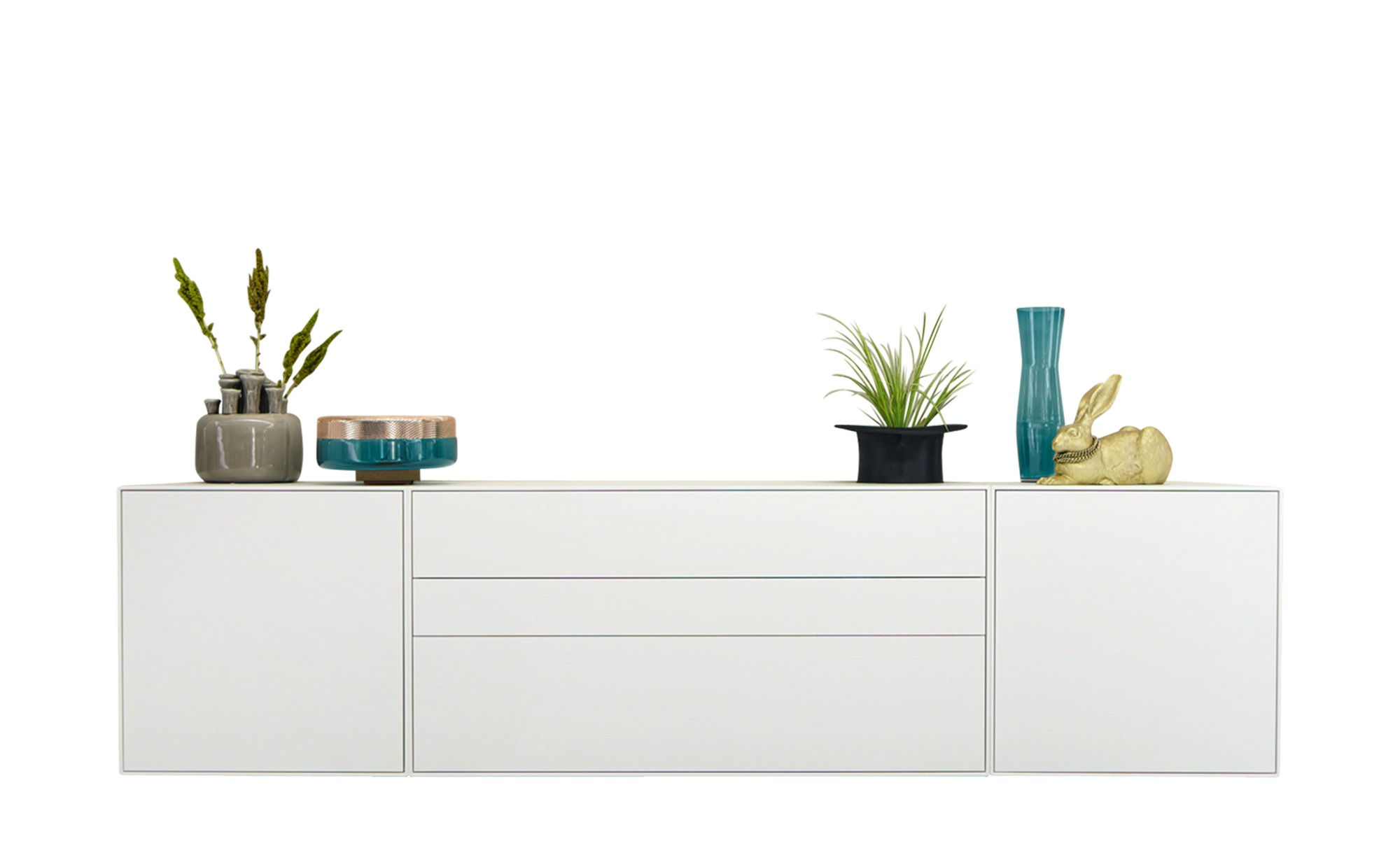 now! by hülsta Hänge-Sideboard 3-teilig now! easy