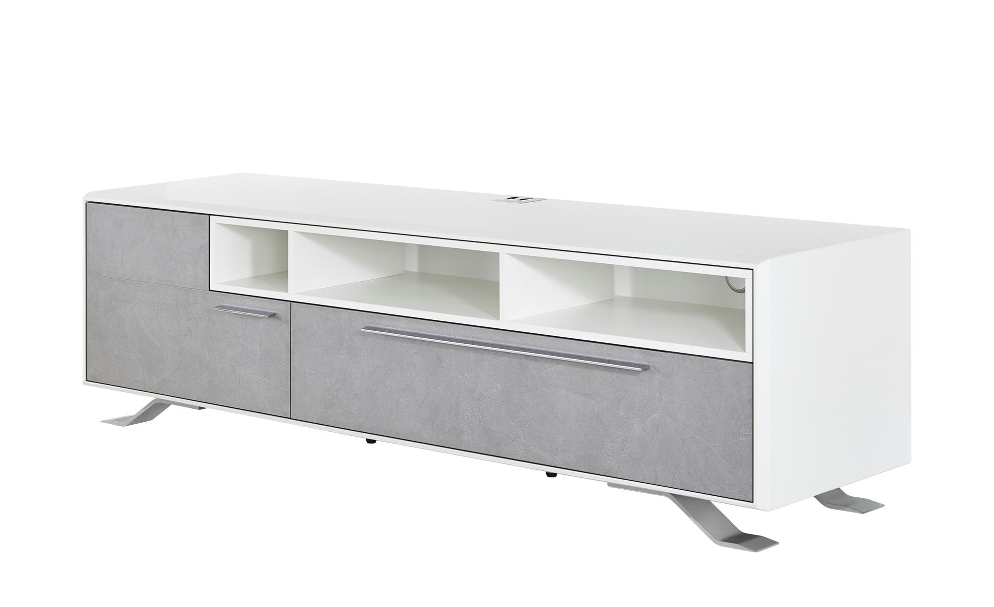 Medienboard - weiß - TV- & Media Möbel > TV-Schränke - Möbel Kraft günstig online kaufen
