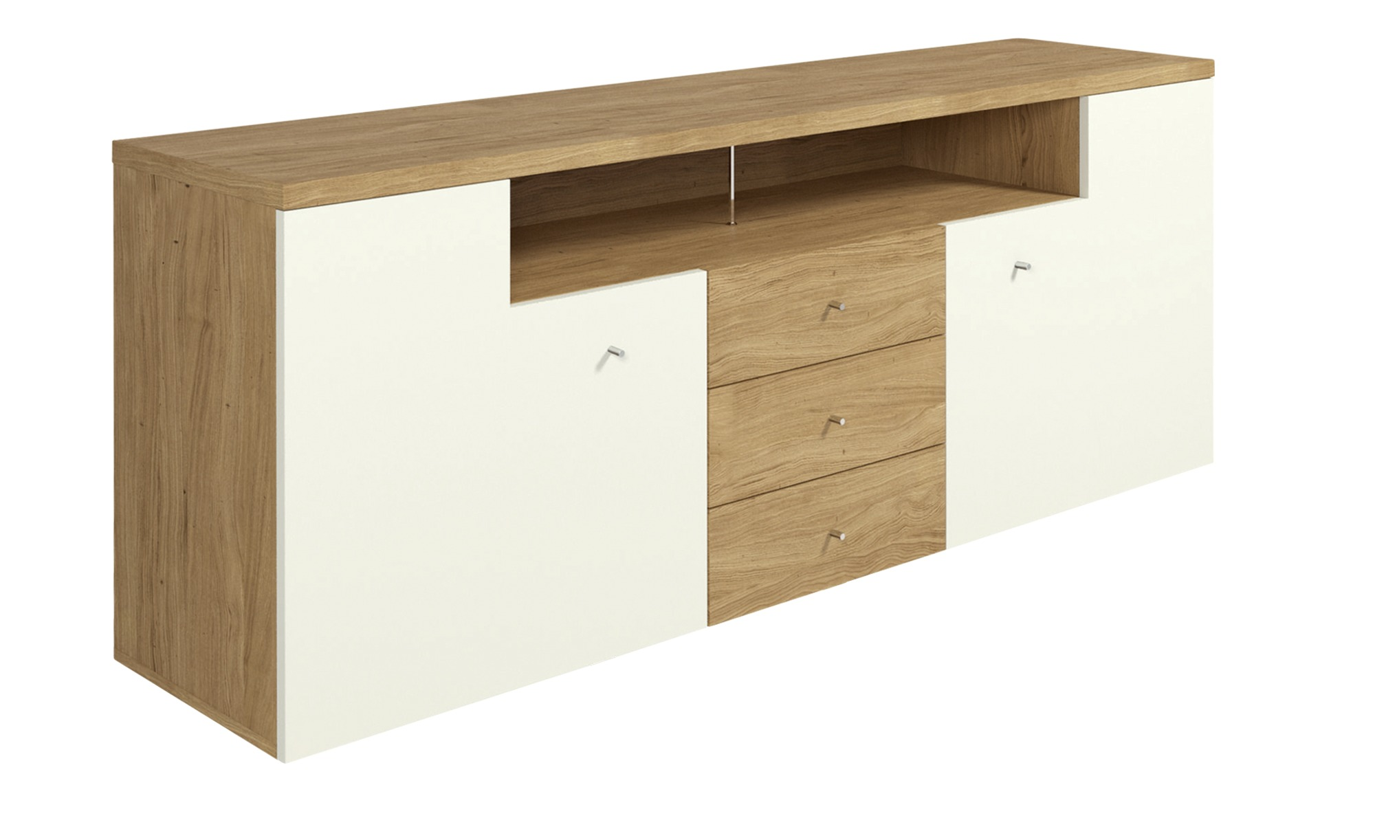 Now By Hulsta Sideboard Hulsta Now Time Natureiche Weiss